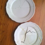 Mended dishes